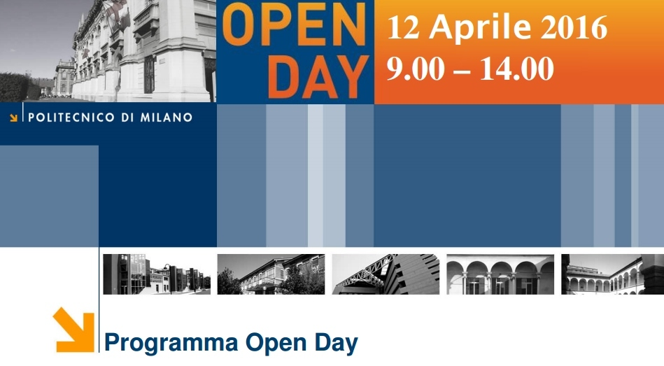 Politecnico di Milano – Polo di Cremona :  OPEN DAY