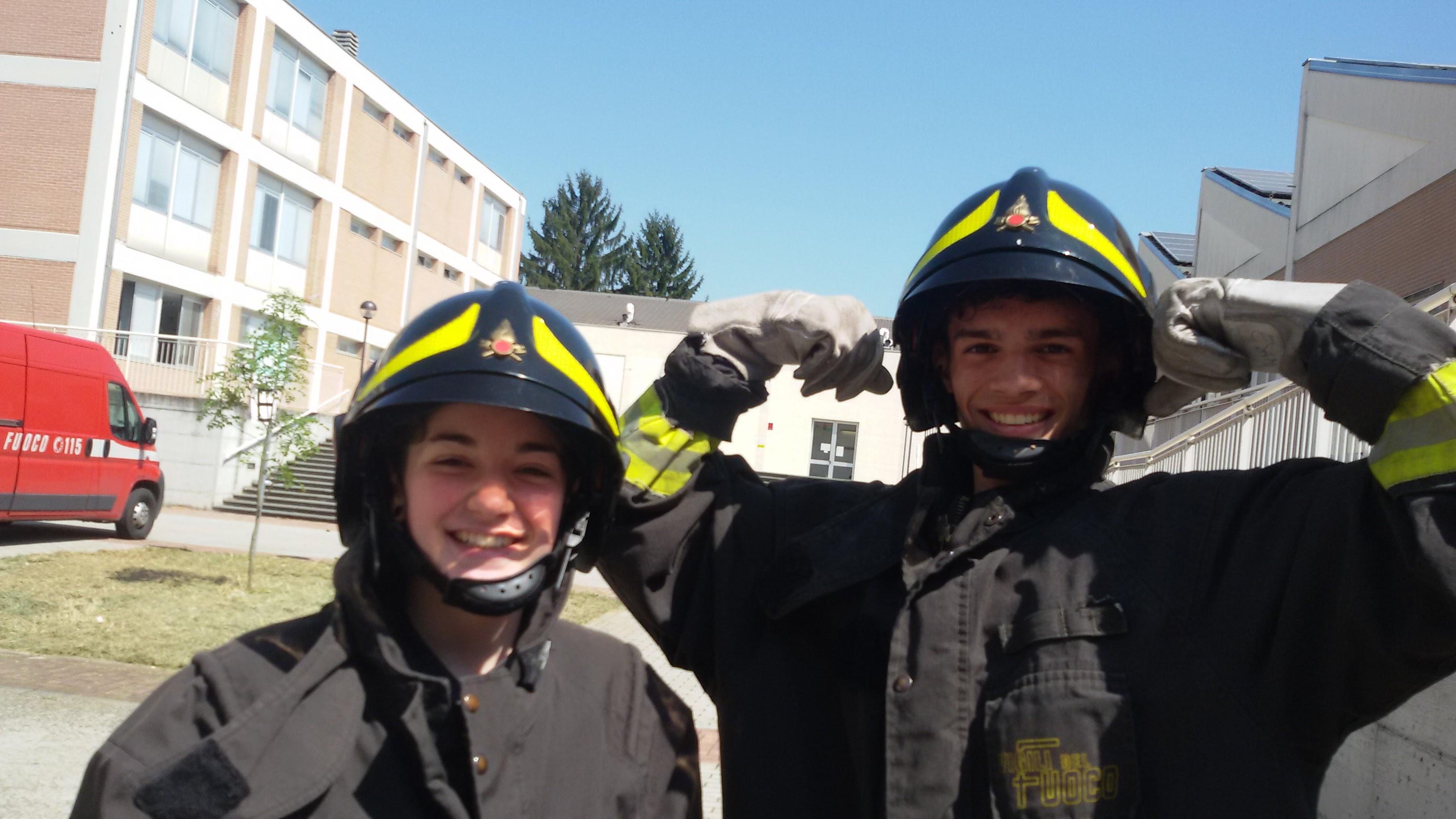 Vuoi diventare un vigile del fuoco?