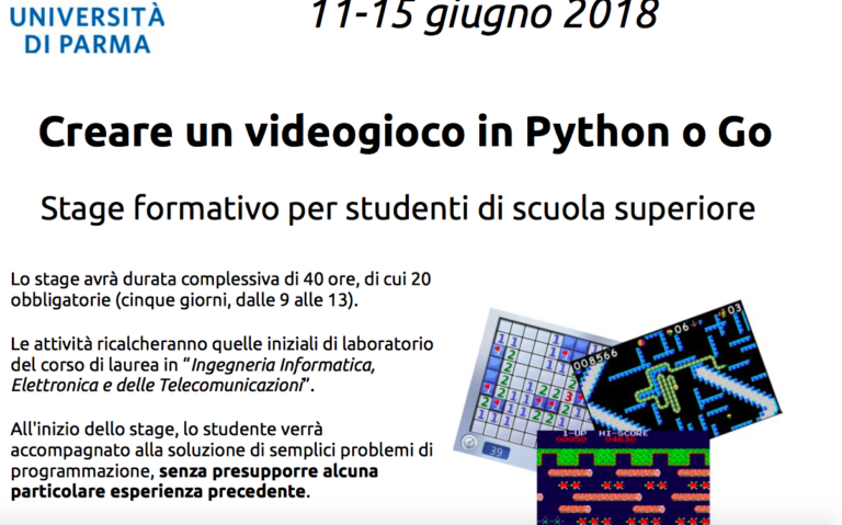 Stage a Ingegneria Informatica – Università di Parma