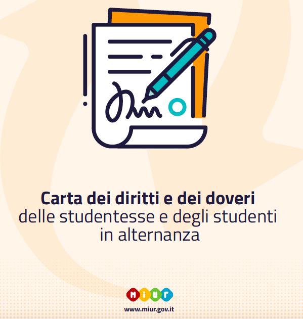 Carta dei diritti e dei doveri delle studentesse e degli studenti in alternanza